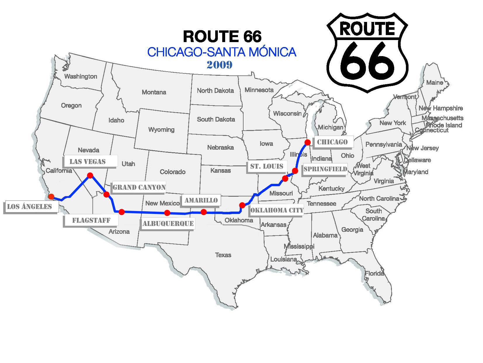 Grandes Viajes La Ruta66 El Sentimiento Americano
