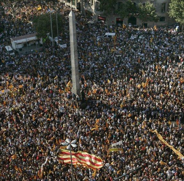 El 10-J marca un abans i un després en la mobilització | Ivan Vila | barcelona | Política | El Punt Avui