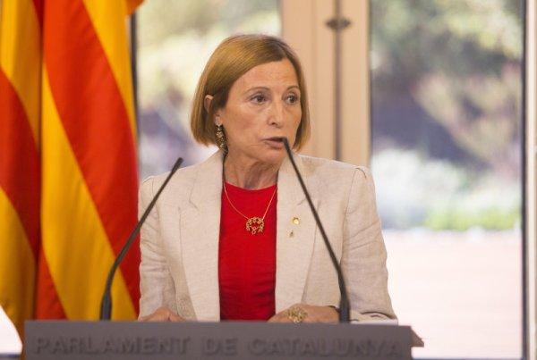 Carme Forcadell al Parlament de Catalunya ORIOL DURAN.