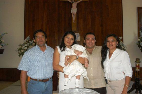 Karen Can Nicoli y Érico Pérez.