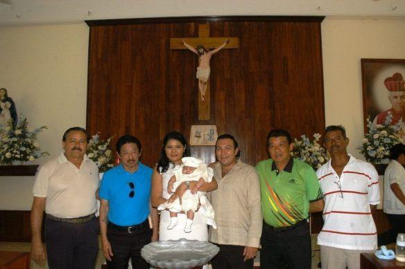 José, Wilberth, Miguel y Armando Can Bardales.