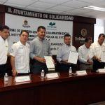 Mauricio Góngora comprometido con la preparación de sus funcionarios