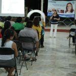Rosa Adriana Díaz Lizama pide a los panistas de Umán preparse, unirse y trabajar juntos