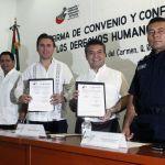 Mauricio Góngora comprometido en la formación de policías en derechos humanos