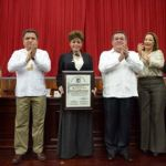 """Entrega medalla """"Lic. Guillermo González Galera"""""""