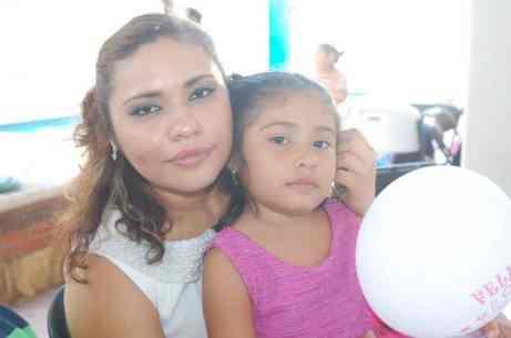 Olinda Noemí Segovia y Leila Karolina González Segovia
