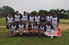 También acudieron a los festejos el equipo de softbol de Tizimin Yucatán.