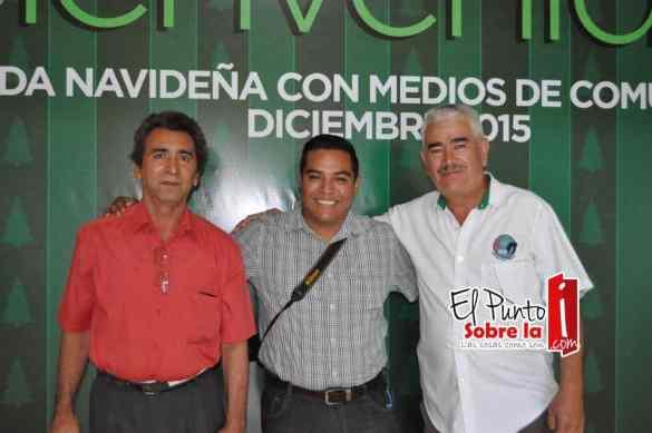 Carlos Yabur, Roberto Lemus y Ramón Aguilera.
