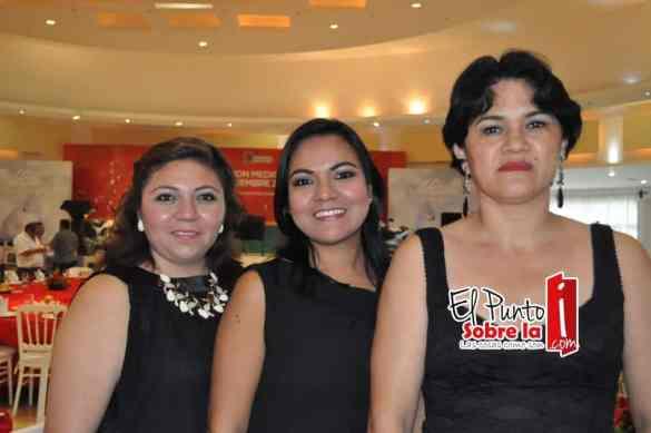 Marisol Torres, Marleny García y Leticia Carreón.