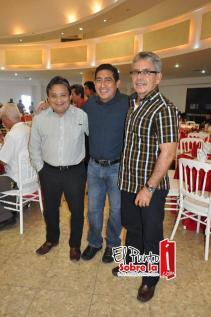 Mario Chan, David Serrano y Nicolas Lizama.
