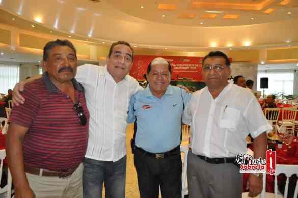 Jose Alfredo Jimenez, Oscar Gonzales y Arsenio Nahuat.