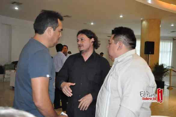 Jesús Amador, Rangel Rosado Ruiz y Armando Batun.