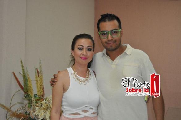 Fabián Sánchez y Liliana Avilés.