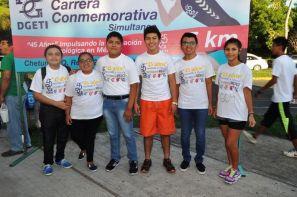 Nubia Varguez, Zenaida Mejía Gómez, Apolonia Chávez Reyes, Luis Torres Llanes, Mirian y Laura Herrera, el pequeño Eitan Reyes y Mayra Varguez.