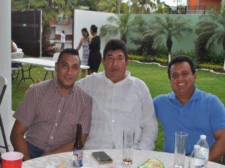 Ulises García Carrillo, David Domínguez Brito y José Koyoc Aguilar.