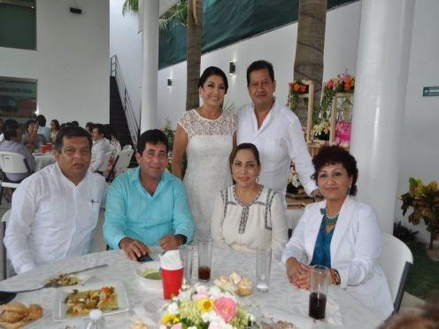 Armando Palomo, Fermín Pérez, Marisol Alamilla Betancourt, Bertha Cobos Villalobos, Fanny Gómez Rodríguez y Carlos Gutiérrez García.