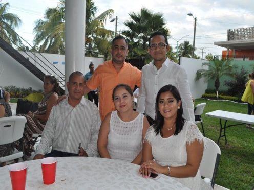 Jacobo Rosado, Joselyn Castillo, Emilse Gutiérrez, Alejandro Schultz y Juan Viana.