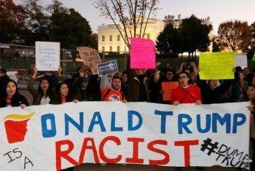 Segundo día de protestas en Estados Unidos contra Trump