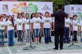 Impulsa Laura Fernández formación cultural de niños portomorelenses