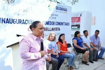 Entrega Cristina Torres primer Comedor Comunitario en beneficio de 400 personas