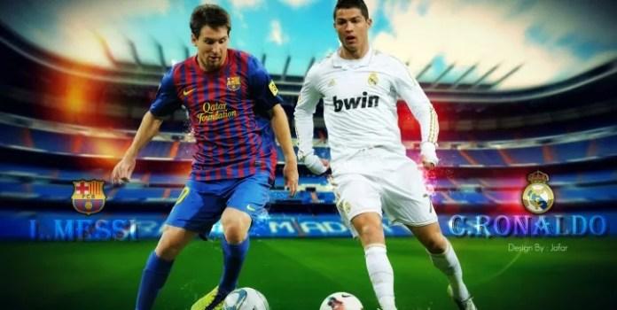 Messi y Cristiano Ronaldo - El Quinto Poder