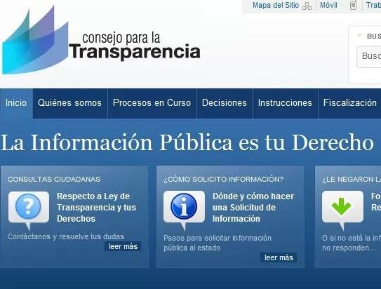 El Consejo para la Transparencia enturbia su camino