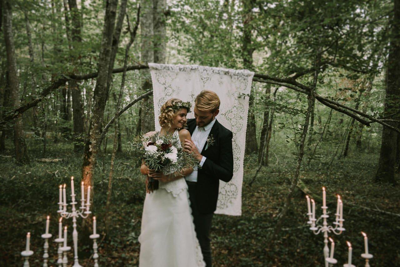 Ceremonias de bodas civiles en el bosque