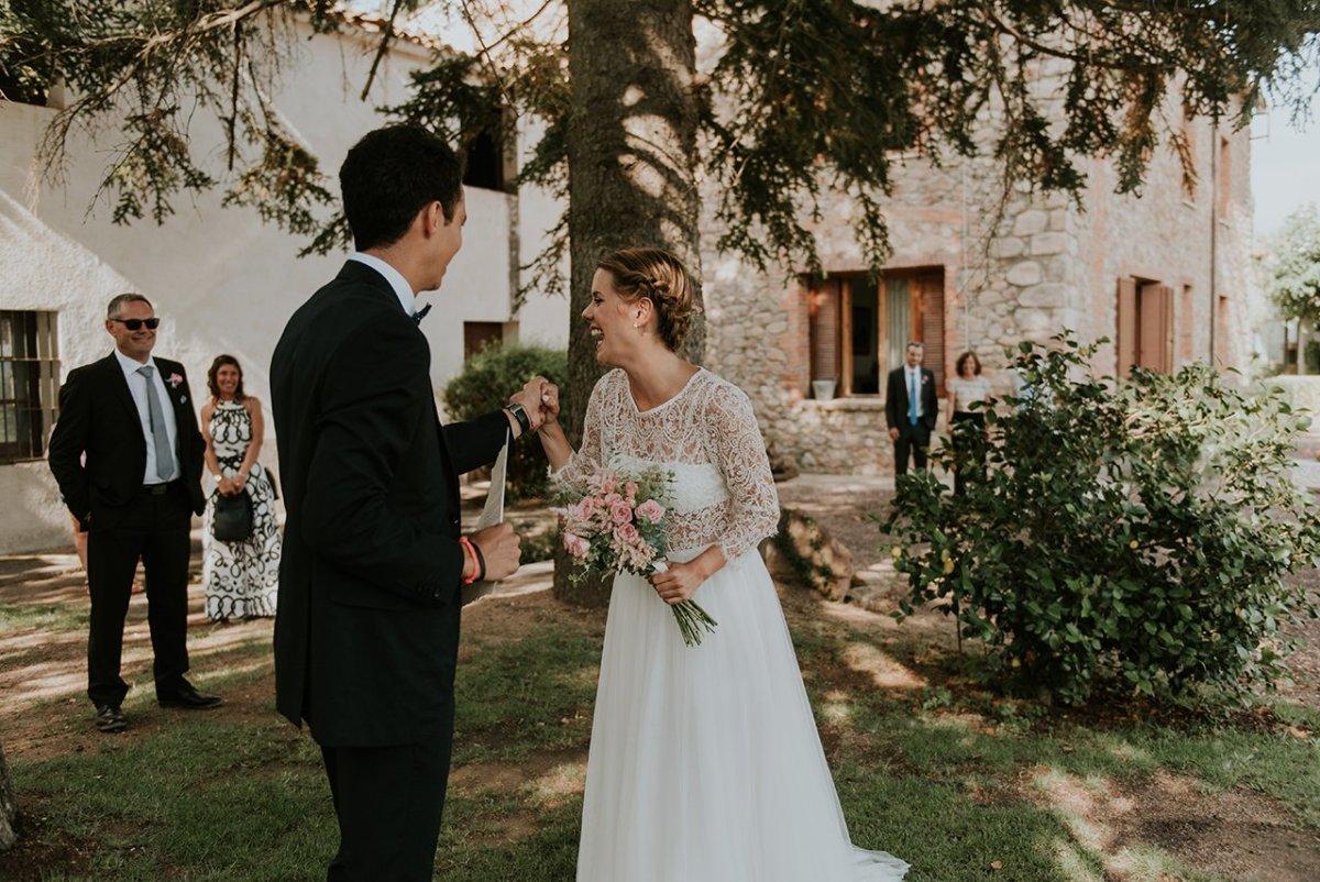 foto de boda en mas can ferrer