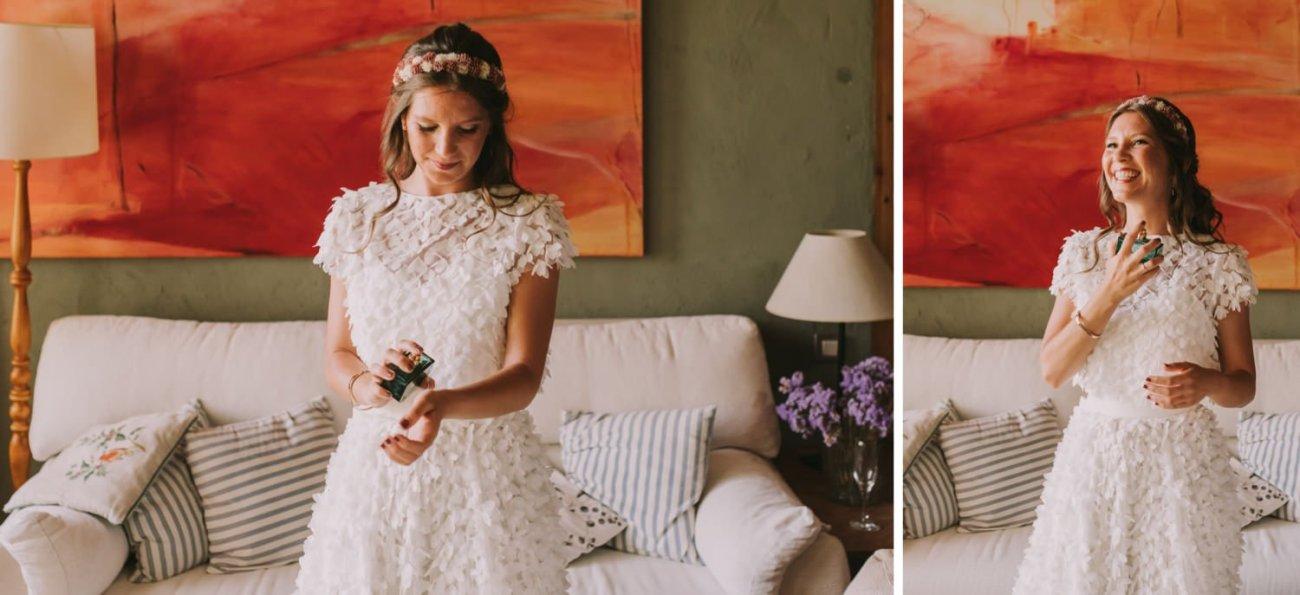 fotos de novias preparativos