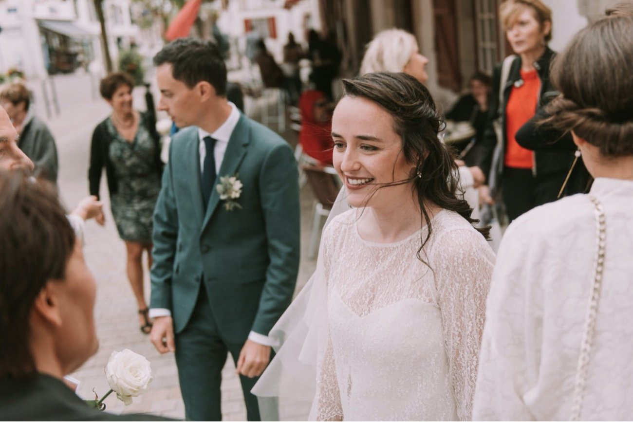 boda en iglesia de urrugne