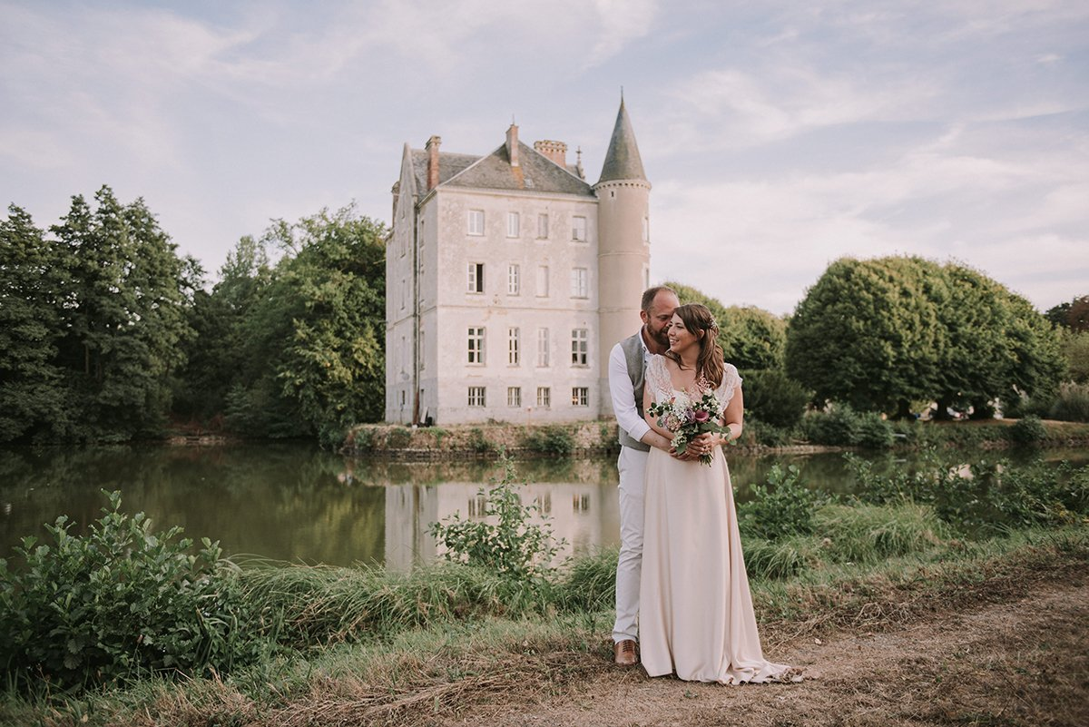 Destination wedding en el Chateau de la Motte Husson
