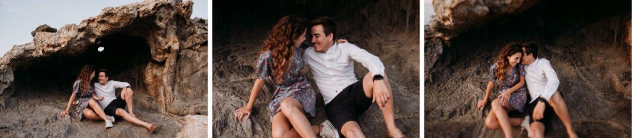 fotos parejas cap de creus girona