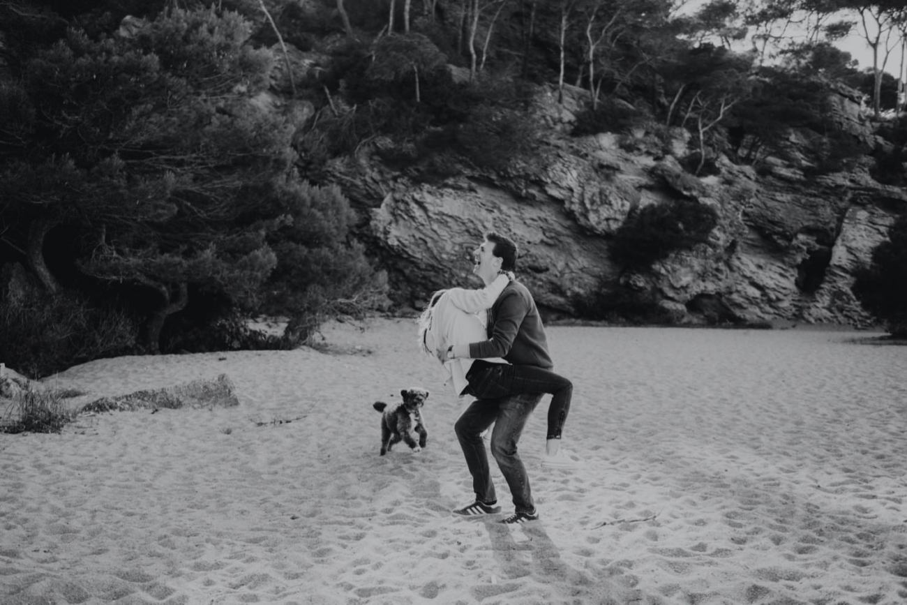 fotografias preboda playa de pals