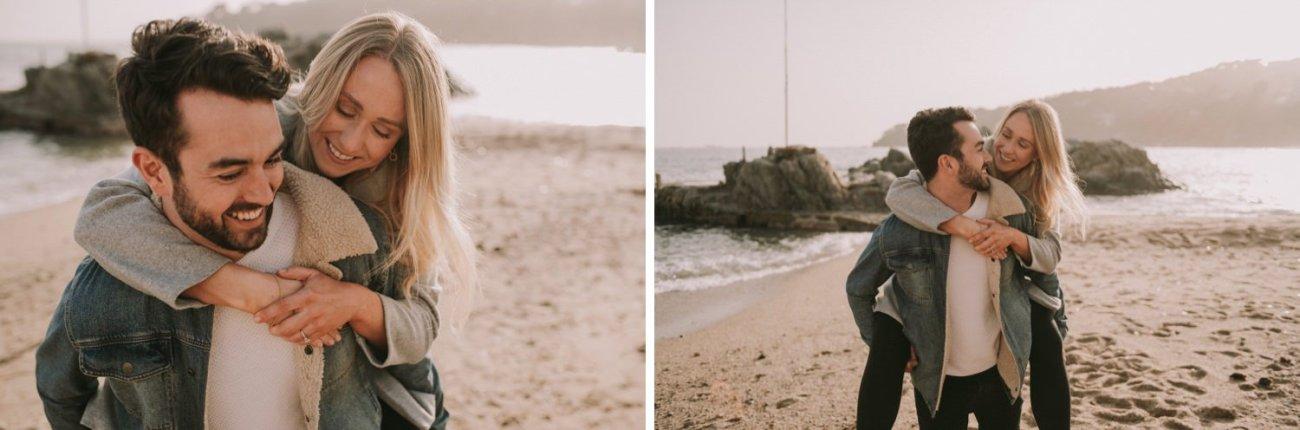preboda playa en calella de palafrugell