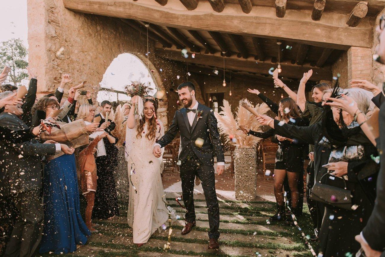 boda en el moli de la escala