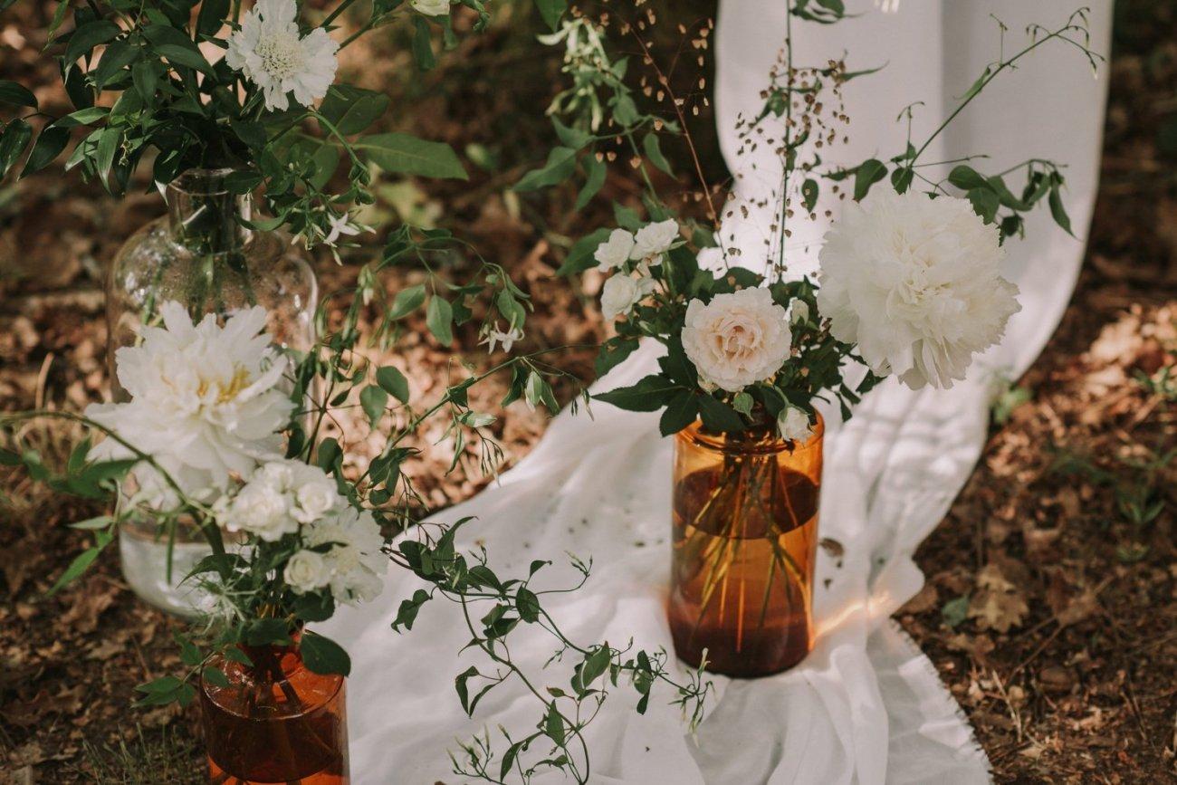 bodas en el bosque con ceremonia natural