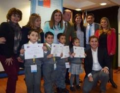 Autoridades de O´Higgins dialogan con escolares con el objetivo de potenciar los estilos de vida saludables 1