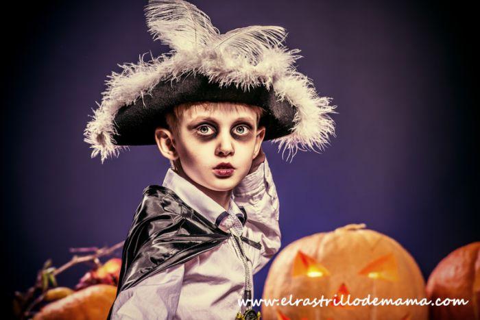 Maquillaje para Halloween Maquillarse Caras de miedo