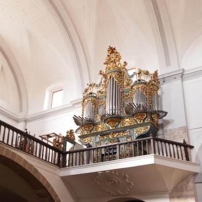 Órgano de Santa María, Tordesillas