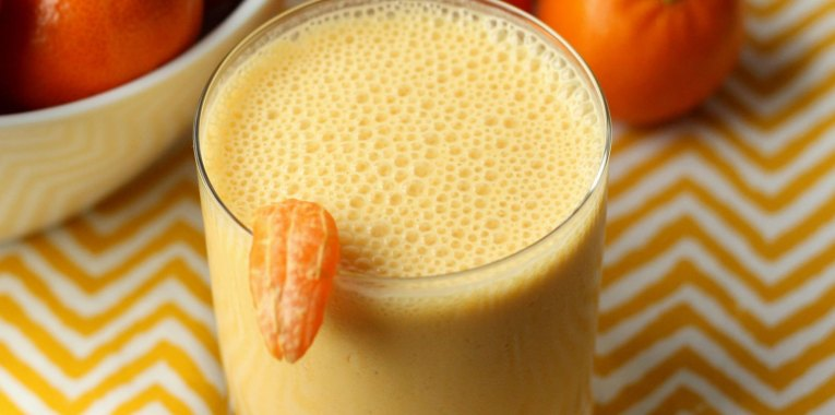 Batido de Mandarina y Naranja