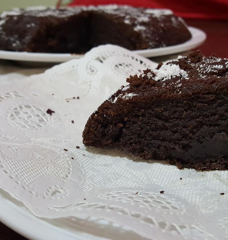 Pastel de Chocolate y Cafe