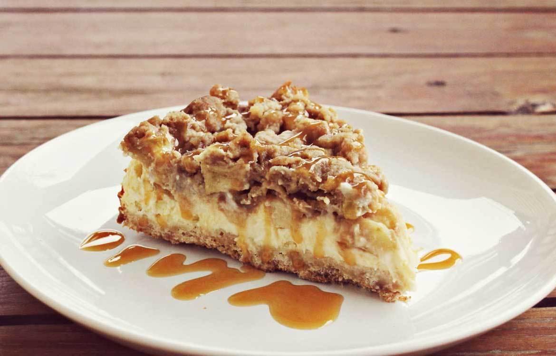 Cheesecake de Manzana Caramelo