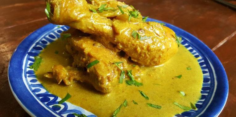 Pollo al Curry Estilo Jessica