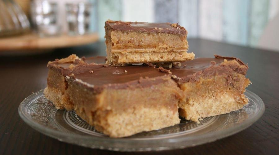 Pasteles de Caramelo y Chocolate