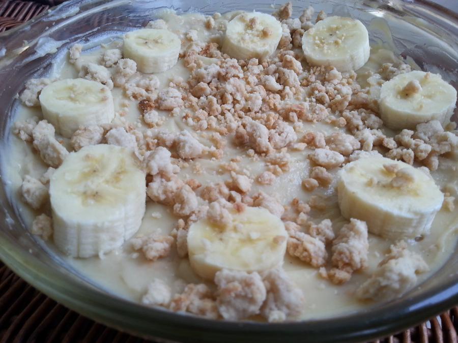 Pudding de Banana