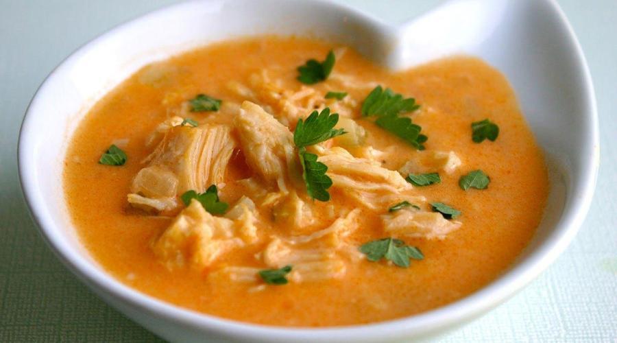 Sopa de Pollo Picante Sudamericana