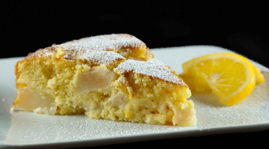Tarta de Limon y Ananas
