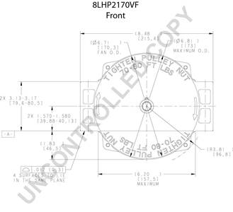 Delco Alternator Wiring Diagram Sfl P Delco CS Alternator