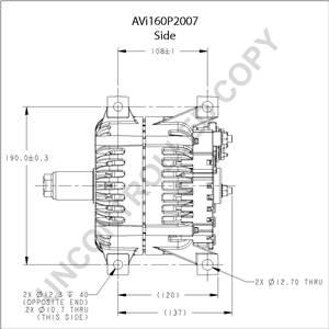 Leece Neville Alternator 12 Volt Wiring Diagram Tractor