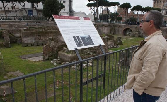 J. A. Ortega en Roma